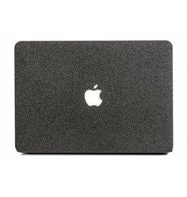 Lunso Lunso - cover hoes - MacBook Air 13 inch (A1932/A1989) - Glitter zwart