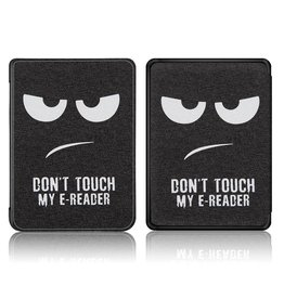 Lunso Lunso - sleepcover hoes - Kindle Paperwhite 4 - Don't Touch