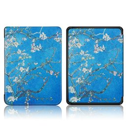 Lunso Lunso - sleepcover hoes - Kindle Paperwhite 4 - Van Gogh amandelboom
