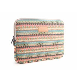 Lisen - laptop sleeve hoes 13 inch - Vintage Stripes