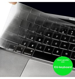 Lunso (EU) Keyboard bescherming - MacBook Air (2018-2019) - Transparant