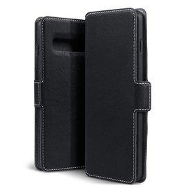 Qubits Qubits - slim wallet hoes - Samsung Galaxy S10 - Zwart