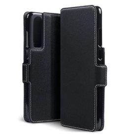 Qubits Qubits - slim wallet hoes - Huawei P30 - Zwart