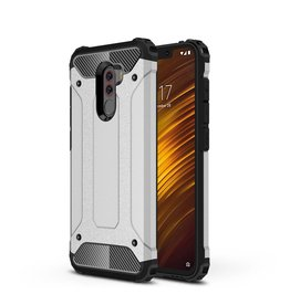 Lunso Lunso - Armor Guard hoes - Xiaomi Pocophone F1 - Zilver