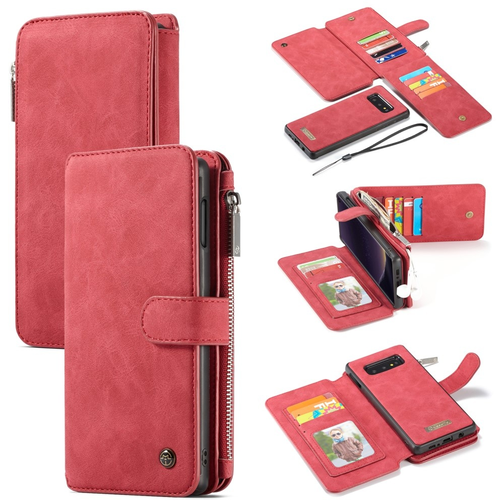 Luxe Portemonnee.Caseme Luxe Portemonnee Hoes Samsung Galaxy S10e Rood Casualcases