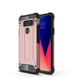 Lunso Lunso - Armor Guard hoes - LG V40 ThinQ - Rose Goud
