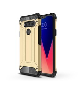 Lunso Lunso - Armor Guard hoes - LG V40 ThinQ - Goud