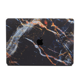 Lunso Lunso - cover hoes - MacBook Pro 13 inch (2016-2019) - Marble Kenzie