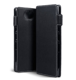 Qubits Qubits - slim wallet hoes - Sony Xperia 10 Plus - Zwart