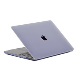 Lunso Lunso - cover hoes - MacBook Air 13 inch (2018) - Mat transparant