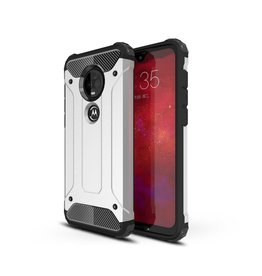 Lunso Lunso - Armor Guard hoes - Motorola Moto G7 / G7 Plus - Zilver