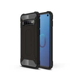 Lunso Lunso - Armor Guard hoes - Samsung Galaxy S10 - Zwart