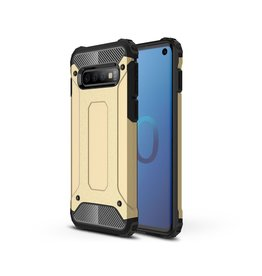 Lunso Lunso - Armor Guard hoes - Samsung Galaxy S10 - Goud