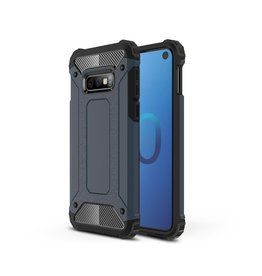 Lunso Lunso - Armor Guard hoes - Samsung Galaxy S10e - Donkerblauw