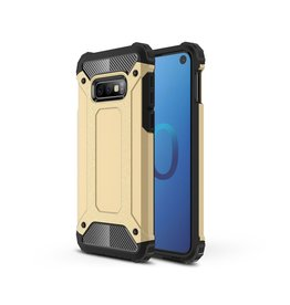 Lunso Lunso - Armor Guard hoes - Samsung Galaxy S10e - Goud