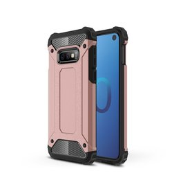 Lunso Lunso - Armor Guard hoes - Samsung Galaxy S10e - Rose Goud