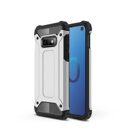 Lunso Lunso - Armor Guard hoes - Samsung Galaxy S10e - Zilver