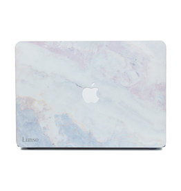 Lunso Lunso - cover hoes - MacBook Air 13 inch (2012-2017) - Marble Brees