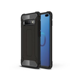 Lunso Lunso - Armor Guard hoes - Samsung Galaxy S10 Plus - Zwart