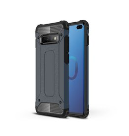 Lunso Lunso - Armor Guard hoes - Samsung Galaxy S10 Plus - Donkerblauw