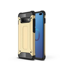 Lunso Lunso - Armor Guard hoes - Samsung Galaxy S10 Plus - Goud