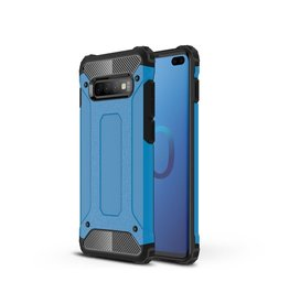 Lunso Lunso - Armor Guard hoes - Samsung Galaxy S10 Plus - Lichtblauw