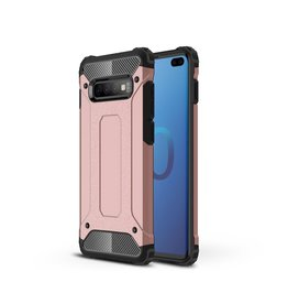Lunso Lunso - Armor Guard hoes - Samsung Galaxy S10 Plus - Rose Goud