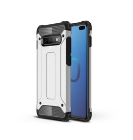 Lunso Lunso - Armor Guard hoes - Samsung Galaxy S10 Plus - Zilver