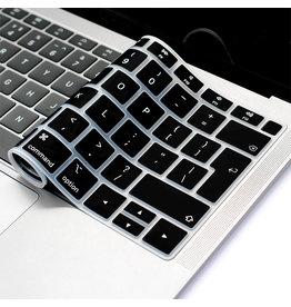 Lunso (EU) Keyboard bescherming - MacBook Air (2018-2019) - Zwart