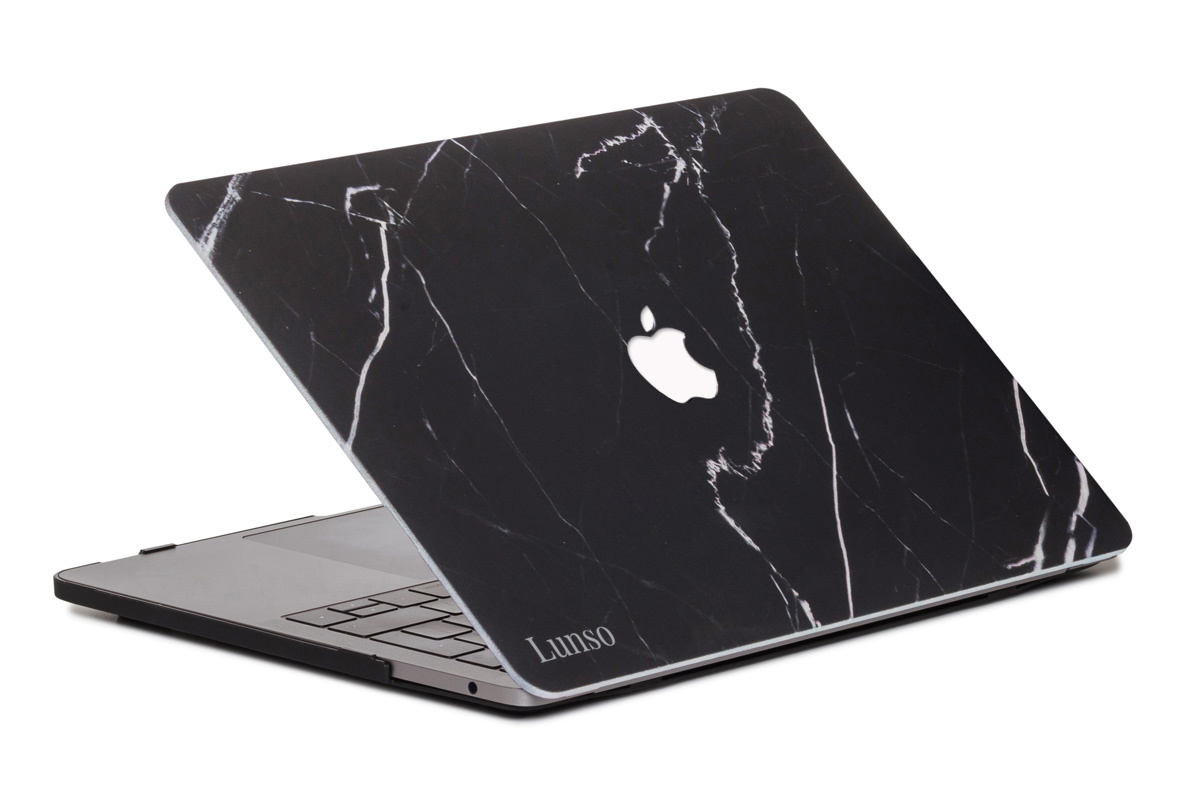 Lunso Marble Ace cover hoes voor de MacBook Air 13 inch (2010-2017)