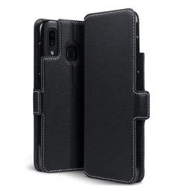 Qubits Qubits - slim wallet hoes - Samsung Galaxy A30 - Zwart