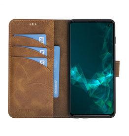 NorthLife NorthLife – Uitneembare 2-in-1 (RFID) bookcase hoes – Samsung Galaxy S10 – Tiguan Leer Cognac