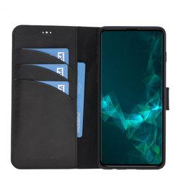 NorthLife NorthLife – Uitneembare 2-in-1 (RFID) bookcase hoes – Samsung Galaxy S10 – Tiguan Leer Zwart