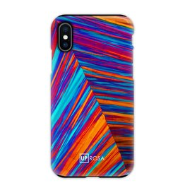 UpRosa Uprosa - backcover hoes - iPhone X / XS - Tropical Colors