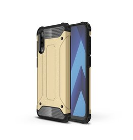 Lunso Lunso - Armor Guard hoes - Samsung Galaxy A50 - Goud