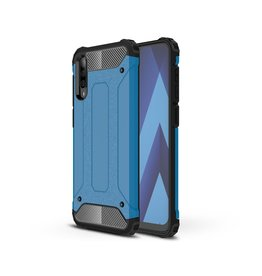 Lunso Lunso - Armor Guard hoes - Samsung Galaxy A50 - Lichtblauw