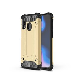 Lunso Lunso - Armor Guard hoes - Samsung Galaxy A40 - Goud