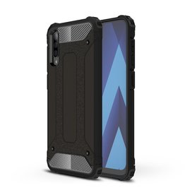 Lunso Lunso - Armor Guard hoes - Samsung Galaxy A70 - Zwart