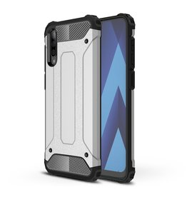 Lunso Lunso - Armor Guard hoes - Samsung Galaxy A70 - Zilver