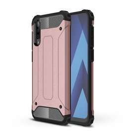 Lunso Lunso - Armor Guard hoes - Samsung Galaxy A70 - Rose Goud