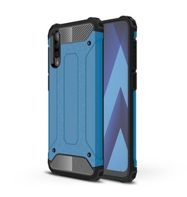 Lunso Lunso - Armor Guard hoes - Samsung Galaxy A70 - Lichtblauw