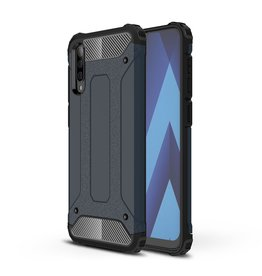 Lunso Lunso - Armor Guard hoes - Samsung Galaxy A70 - Donkerblauw