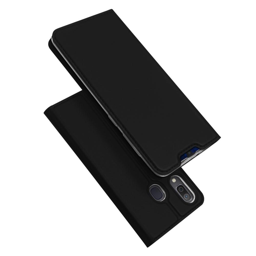 Dux Ducis Dux Ducis pro serie slim wallet Zwart hoes voor de Samsung Galaxy A30