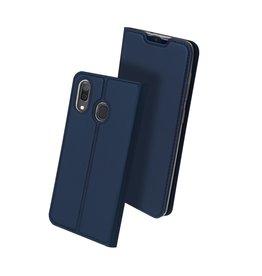 Dux Ducis Dux Ducis - pro serie slim wallet hoes - Samsung Galaxy A30 - Blauw