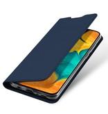 Dux Ducis Dux Ducis pro serie slim wallet Blauw hoes voor de Samsung Galaxy A30