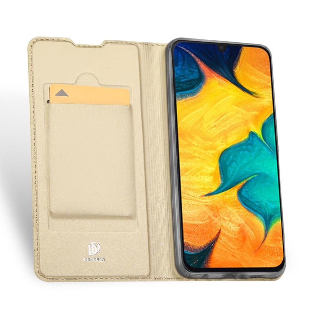 Dux Ducis Dux Ducis pro serie slim wallet Goud hoes voor de Samsung Galaxy A30