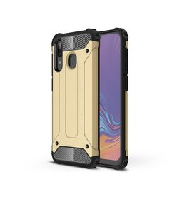 Lunso Lunso - Armor Guard hoes - Samsung Galaxy A30/A20 - Goud