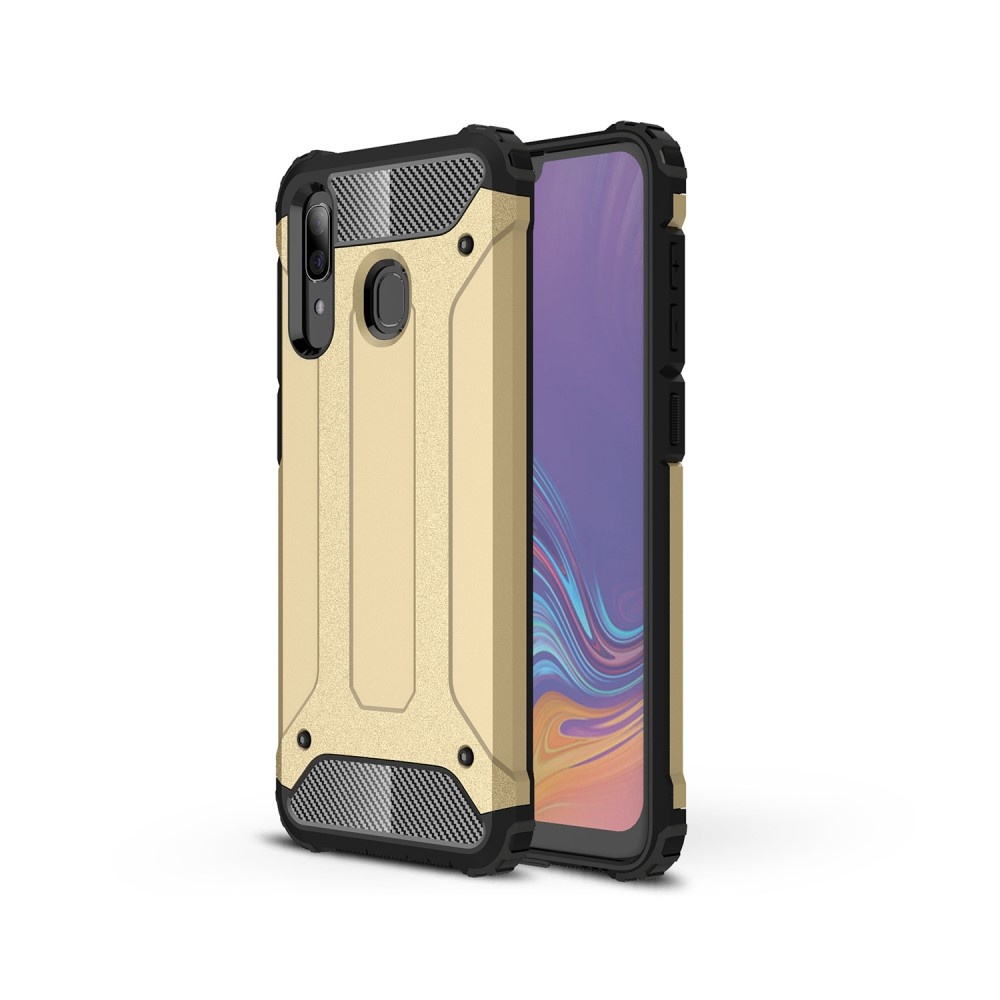 Lunso Armor Guard hoes goud voor de Samsung Galaxy A30/A20