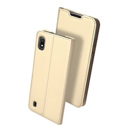 Dux Ducis Dux Ducis - pro serie slim wallet hoes - Samsung Galaxy A10 - Goud