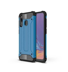 Lunso Lunso - Armor Guard hoes - Samsung Galaxy A30 / A20 - Lichtblauw
